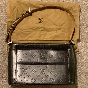 Louis Vuitton Allston Slate Monogram Shoulder Bag